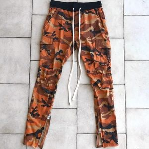 mnml Cargo Drawcord Pants